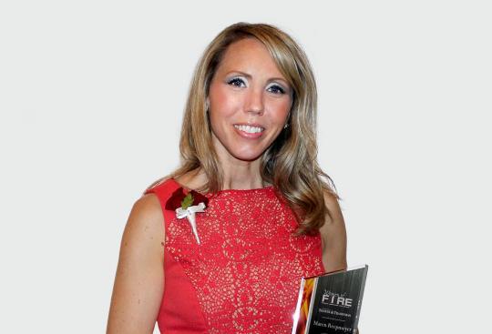 Maren Reepmeyer Named 2016 Woman of Fire by Banker & Tradesman