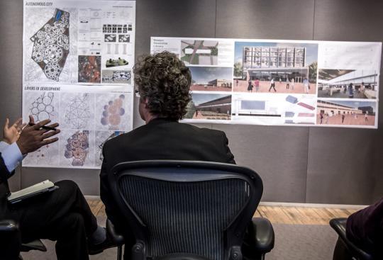 CBT Kicks-Off Urban Design Studio at Roger Williams University