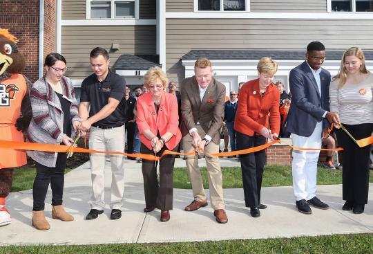 Bowling Green State University Celebrates Greek Housing Grand Opening