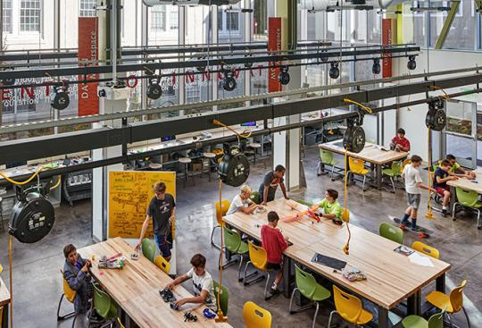Boundless Design Supports Limitless Learning at the Fessenden School