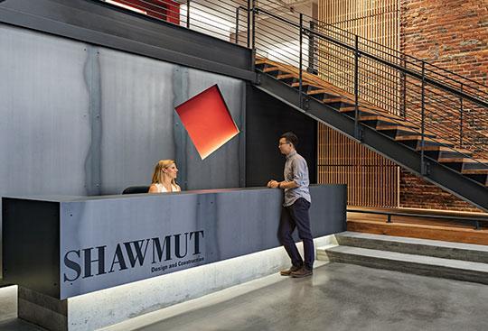 Shawmut Design and Construction - Boston Headquarters