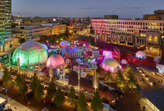 CBT Designs First-Ever Centralized Festival Site for Boston Innovation Festival