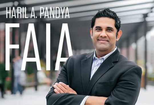 Haril Pandya Elevated to FAIA