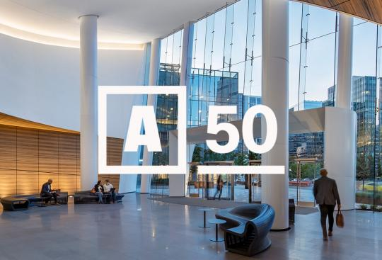 CBT Named to 2018 'Architect 50' List Recognizing top U.S. Design Firms