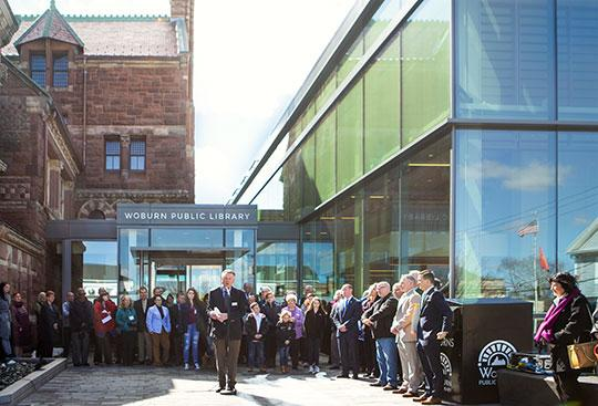 Woburn Public Library Officially Reopens