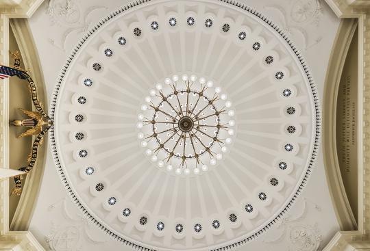 State Senate Chamber awarded Preservation Award by Massachusetts Historical Commission