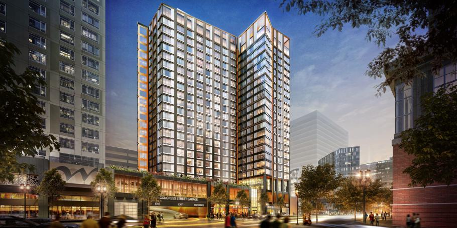 Waterside Place Phase 1B Approved to Move Forward in Seaport