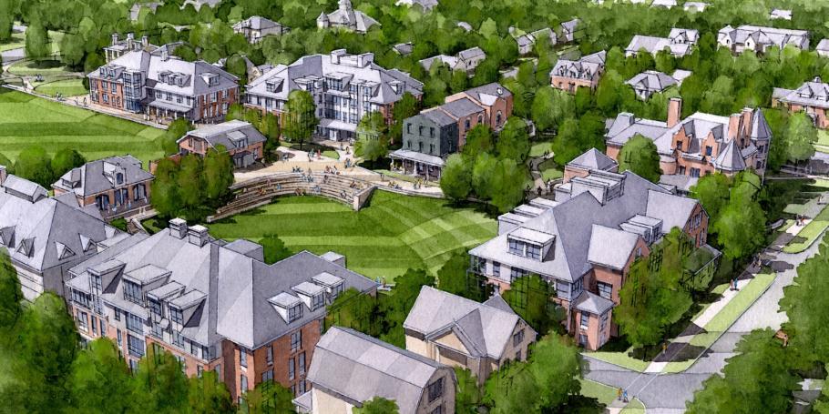 Champlain College Unveils Residential Campus