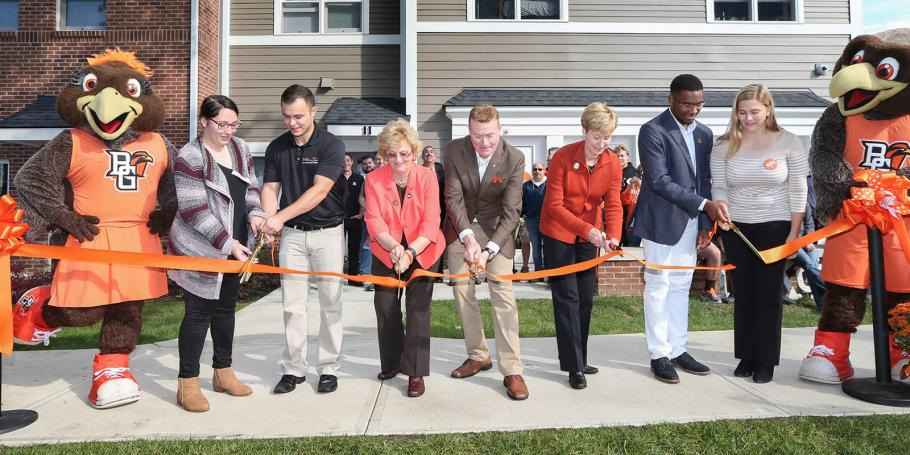 Bowling Green State University Celebrates Greek Housing Grand Opening