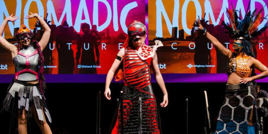 """CBT's """"Nomadic Couture"""" Honored at IIDA NE Fashion Show"""