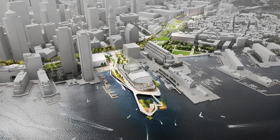 New England Aquarium Central Wharf Master Plan
