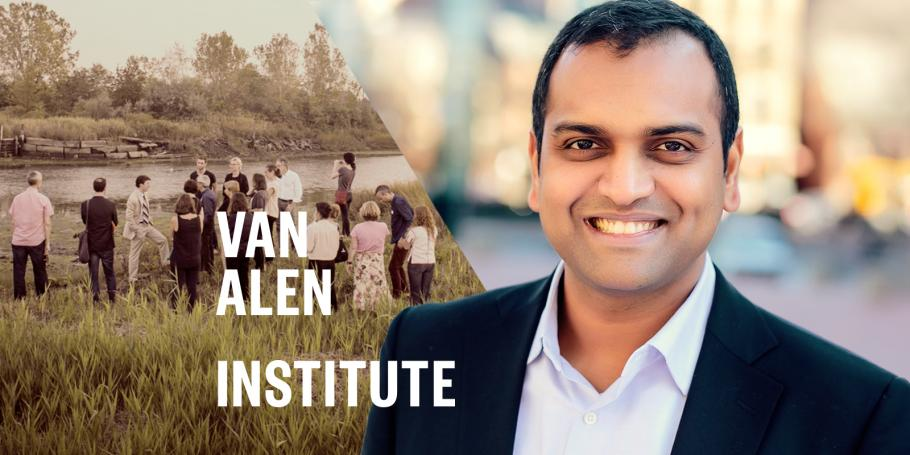 Kishore Varanasi joins Van Alen Institute's Climate Council