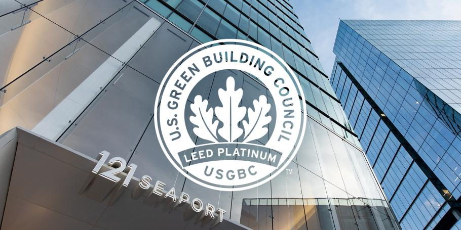 121 Seaport Achieves LEED Platinum Certification