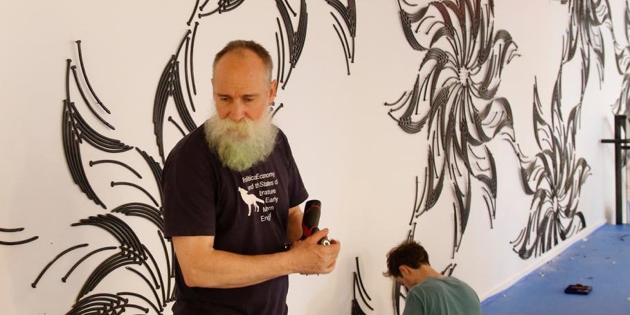 345 Harrison: Wall Art Time-Lapse Video