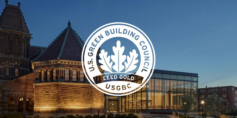 Woburn Public Library Achieves LEED Gold Certification