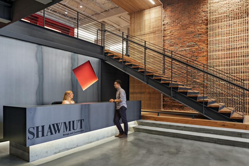 Shawmut Design Construction Headquarters CBT